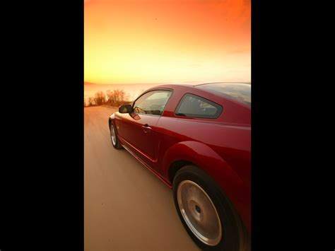 2005 Ford Mustang GT - Production - Side Section ...