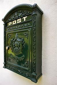 Deutsche Post Briefkasten Kaufen : briefkasten postkasten nostalgie wandbriefkasten ~ Michelbontemps.com Haus und Dekorationen
