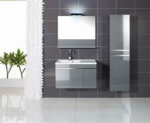 Meuble Salle De Bain Gris : meubles tendances duc carrelages et bains ~ Preciouscoupons.com Idées de Décoration