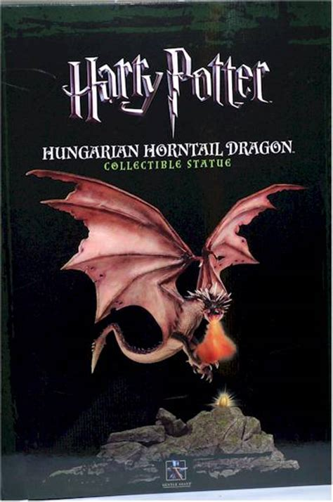 harry potter horntail dragon statue  toy review