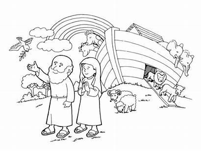 Gambar Nuh Mewarnai Anak Nabi Untuk Sekolah