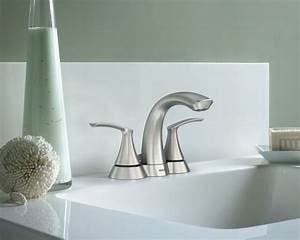 moen darcy two handle brushed nickel bathroom faucet With moen darcy bathroom faucet