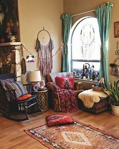52, cool, living, room, designs, ideas, in, boho, style