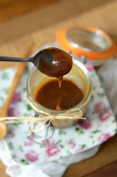 caramel beurre sale maison sauce caramel au beurre sal 233 recette maison recette tangerine zest