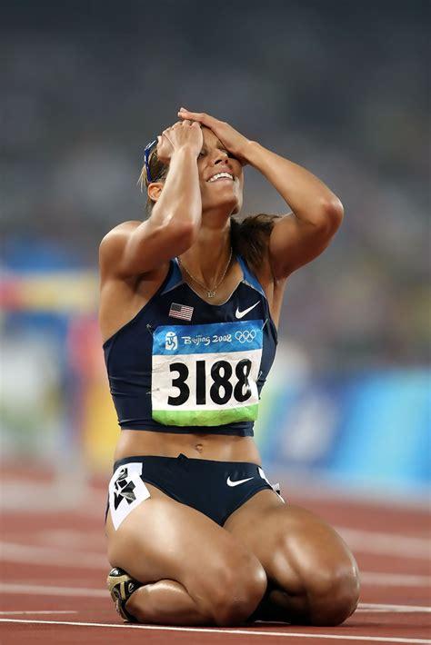 lolo jones  olympics day  athletics zimbio