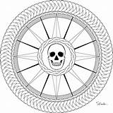 Compass Rose Pirate Coloring Drawing Printable Donteatthepaste Adult September Pyrography Embroider Enjoy Larger Version sketch template