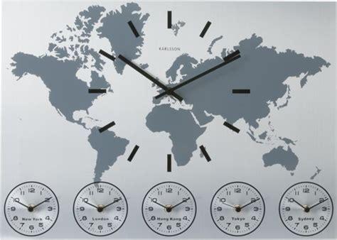 Karlsson Uhren Homepage by Bol Karlsson World Time Klok Rechthoekig