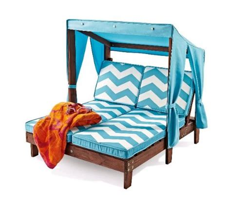 outdoor kid s chaise lounge chair w canopy play