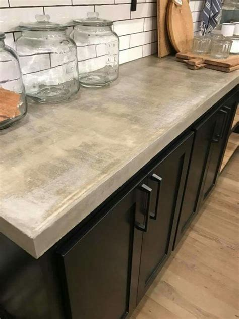stained concrete countertops ideas  pinterest