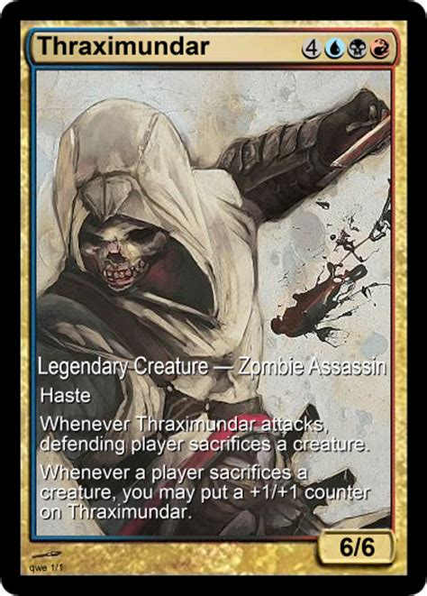 Thraximundar Edh Deck by Thraximundar Replacement By Drayle88 On Deviantart
