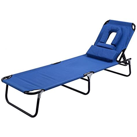 folding outdoor chaise lounge goplus folding chaise lounge chair bed outdoor patio