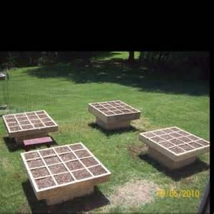 Raised Garden in a Square Foot Gardening