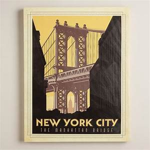 New York Poster : vintage style new york city poster world market ~ Orissabook.com Haus und Dekorationen