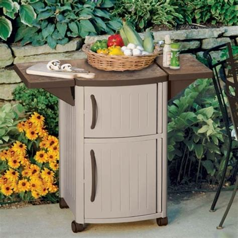 Suncast Patio Storage And Prep Station Bmps6400 by Outdoor Food Prep Station By Suncast 174 Barbeque
