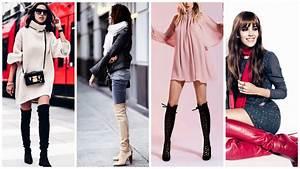 tendance mode comment porter les bottes cuissardes With tendances modes