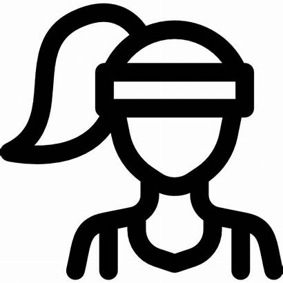 Athlete Icon Icons Freepik Flaticon Gratis Symbols