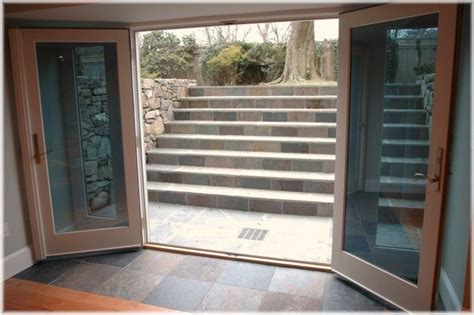 Westchester Ny Design Build Walk Out French Doors Basement