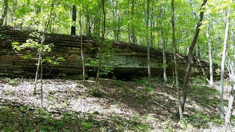 hiking   aboveground cave  missouri  give