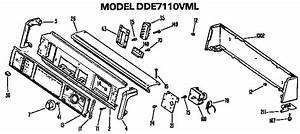 Ge Dde7110vml Dryer Parts