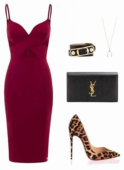 Polyvore Party Outfit Outfits Louboutin Classy Madrid
