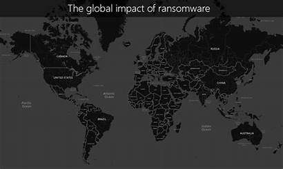 Ransomware Reach Map Attacks Sophistication 1h Levels