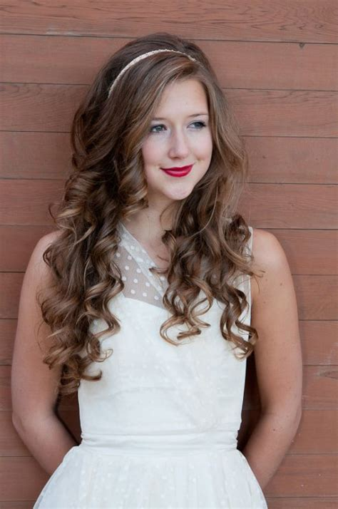 easy headbands hairstyle for curly hair elle hairstyles