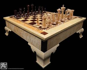 A Chess Set For My Daughter - FineWoodworking