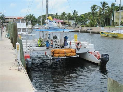 Catamaran Boatyard Key Largo Fl 33037 by Le Catamaran Pour Le Snorkelling Picture Of Reef Roamer