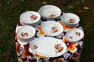 Service De Table Porcelaine : service de table en porcelaine bavaria chouette vintage ~ Teatrodelosmanantiales.com Idées de Décoration