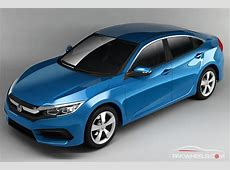 New Renders Of 10th Generation Honda Civic Surfaces