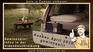 Mini Camper Auto Ausbau Camper Umbauen  5 Minuten     Renault Scenic Car Camper Conversion