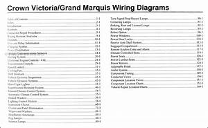 2009 Crown Victoria  U0026 Grand Marquis Original Wiring Diagram Manual