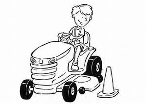 Malvorlagen Zum Ausdrucken Ausmalbilder Traktor Kostenlos 3