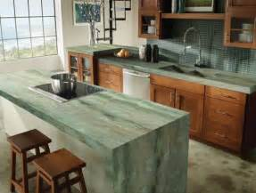 kitchen countertops options ideas 30 unique kitchen countertops of different materials digsdigs