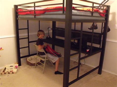 cheap loft beds with desk cheap bunk beds with desk underneath and full size loft