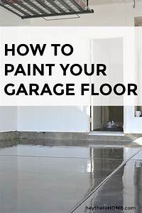 best 25 garage floor paint ideas on pinterest painted With what kind of paint to use on kitchen cabinets for create car stickers