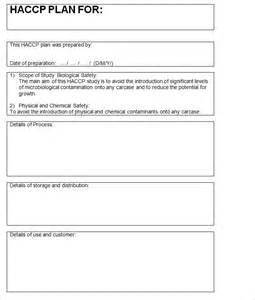Verification Engineer Exle by Haccp Plan Template 28 Images Verification Sure Your Food Safety Management Haccp Plan