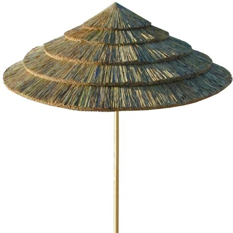 cape reed thatch umbrella kit tiki torches