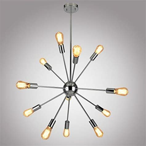 chrome sputnik chandelier 12 lights pendant light sputnik chandelier chrome