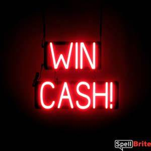 WIN CASH Signs