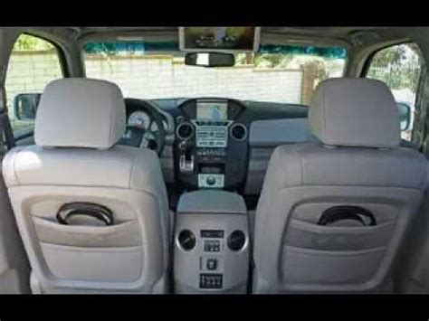 Honda Upholstery - 2014 honda pilot interior