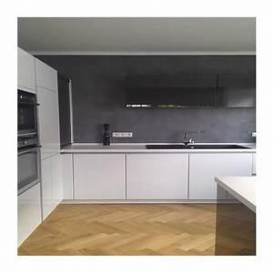 Küchenfliesen Wand Modern : beton cir wand m bel feinbeton betonoptik sichtbetonoptik ~ Articles-book.com Haus und Dekorationen