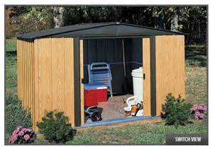 Arrow Metal Shed 10x12 by Arrow Woodlake Shed Wl108