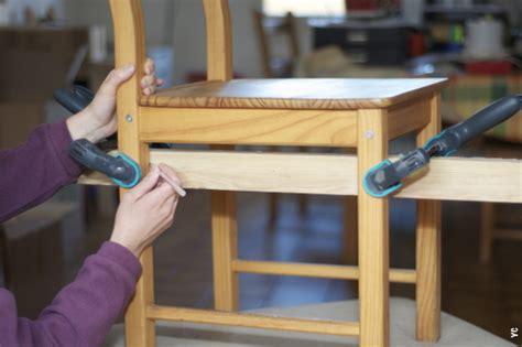fabrication d une chaise en bois leçon n 1 plus vous mesurez moins vous êtes précis