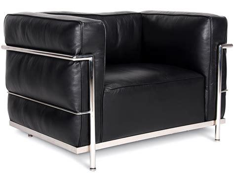 canapé lc3 le corbusier le corbusier lc3 armchair grand confort collector replica