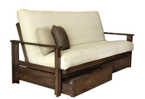 mattress for futon sofa bed sherbrooke oak futon frame futon d 39 or natural