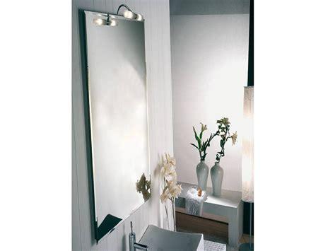 specchi arredo bagno specchio con faretto arredo bagno leader 1