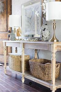 The Office Thanksgiving Entryway Console Table Styling Tips How To Decorate Any