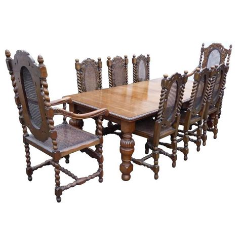 oak dining table and 8 chairs for sale victorian solid oak dining table and eight chairs for sale