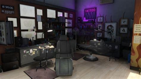 Salons De Tatouages De Gta V Gta Légende Salon De Tatouage